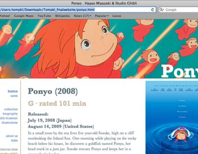 Hayao Miyazaki website