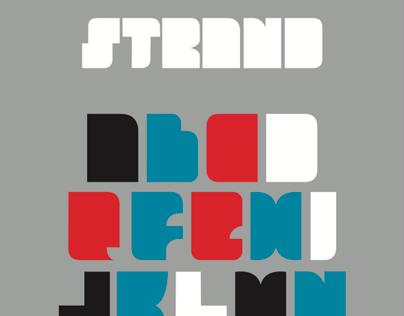 Strand typeface