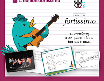 Encart | Éditions Fortissimo