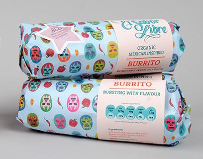 El Sabor Libre - Mexican Food Packaging