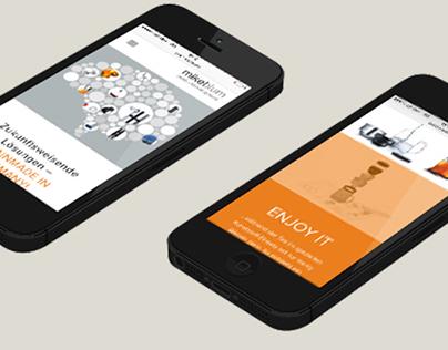 Webseite für mikelblum productdevelopment