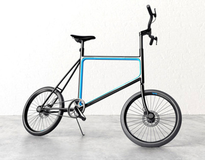 Lock. Bicycle Concept
