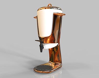 Copper Juice Dispenser