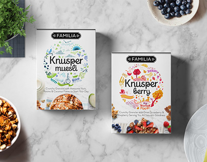 Knusper Organic Granola Packaging