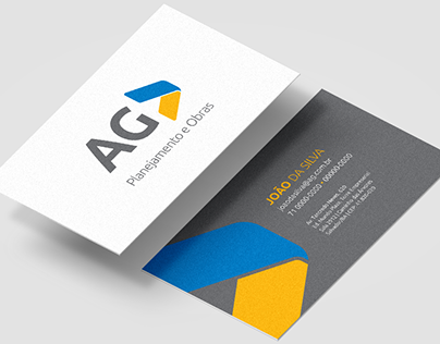 Branding - AG Planejamento e Obras