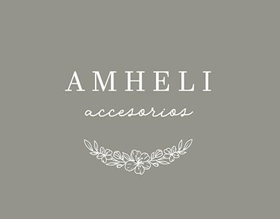 Amheli - Rediseño de Identidad & Tarjetas Personales
