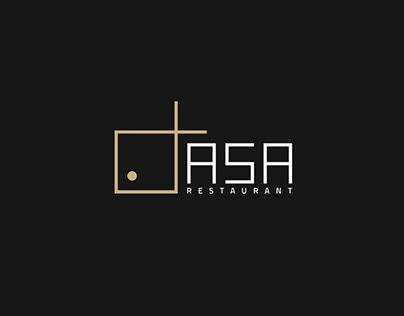 ASA Restaurant Brand Identity