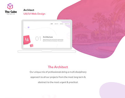 The Cube Design - Web UI