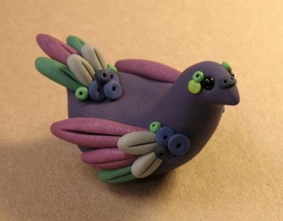 Polymer Clay Birds