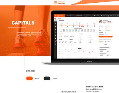 Dashboard Capital finance