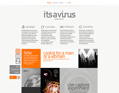 Its a Virus webpage