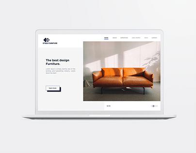 Otago Furniture UI design