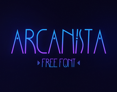 Arcanista - Free Font