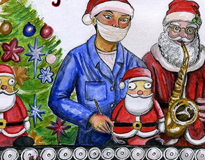 Christmas In Yiwu