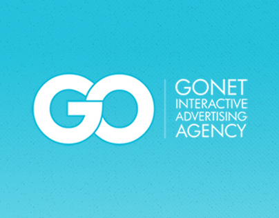 """""""Gonet Interactive Advertising Agency"""" Interface Design"""