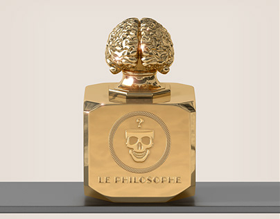 Le Philosophe - Perfume bottle design range.