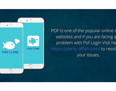 Pof login issues