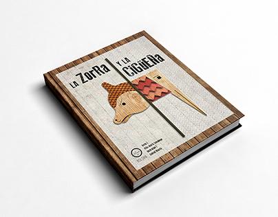 La zorra y la cigueña - Libro álbum
