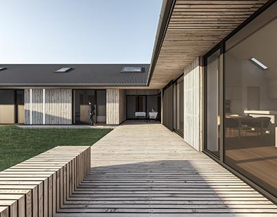 House in Scandinavian style