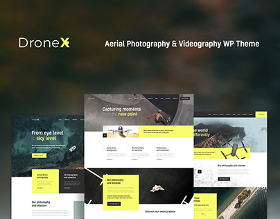 DroneX   Aerial Photography & Videography WP Theme
