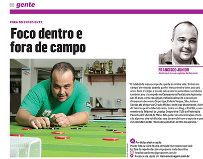 Foto Editorial - Revista Meio & Mensagem