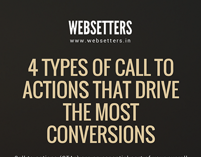 4 Types of Call To Actions That Drive The Conversions