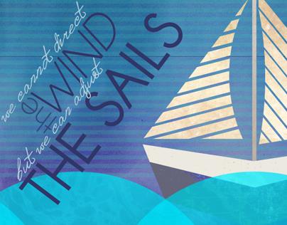 Sailboat Graphic