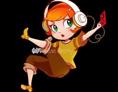 Bellingham Anime Con 2016 Mascot Chibi