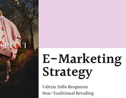 Non-Traditional Retail - 'Emilio Pucci E-Marketing'