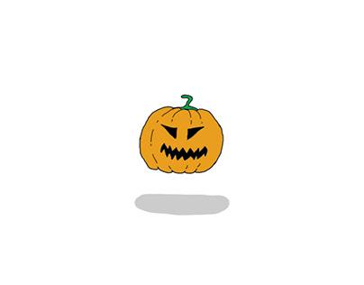 Pumpkin GIF (Semester 1)