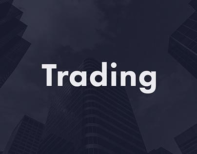 Animation logo - Trading