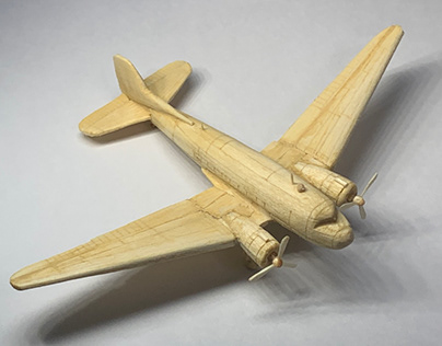 C-47 Skytrain, woodcraft