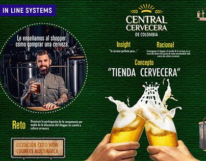Central Cervecera - In line Systems