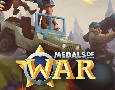 MEDAS OF WAR - UI/UX Design