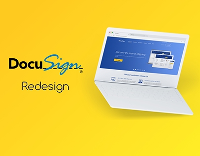DocuSign Homepage Redesign