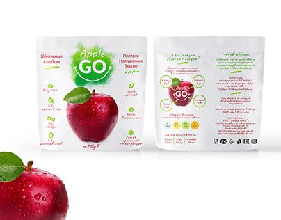 Apple Slices packaging