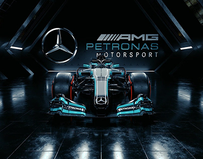 The Mercedes AMG F1 W09 EQ Power+