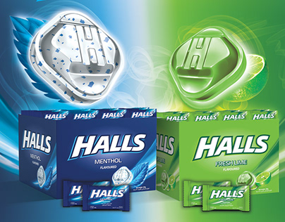 HALLS Promotion Poster (Official)