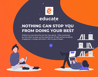 Educate -Strategy&Design for College Admission Platform