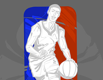 THE BASKETBALL VECTOR SKETCHES