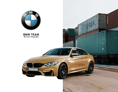 concept online marketing for BMW Team Wrocław