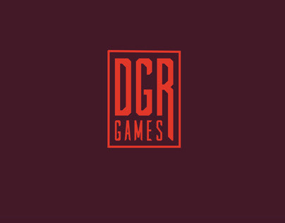Motion intro for 'DGR Games' brand.