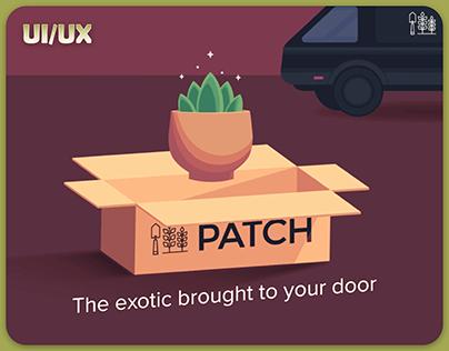 Patch Plant Companion - UI/UX App Design
