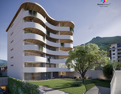 RENDER BUILDING LUGANO Swiss