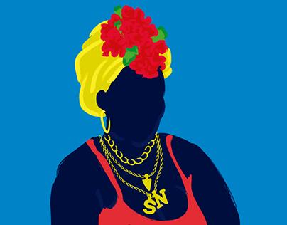 La Monse Fest Graphic Design Identity for Festival