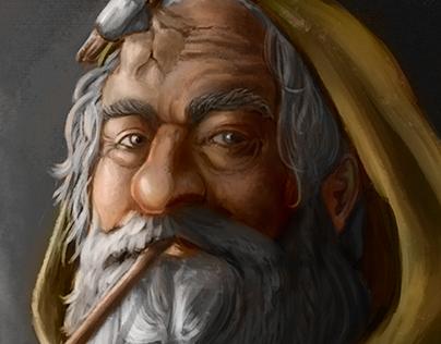 Ilustração Bifur - Senhor dos Anéis