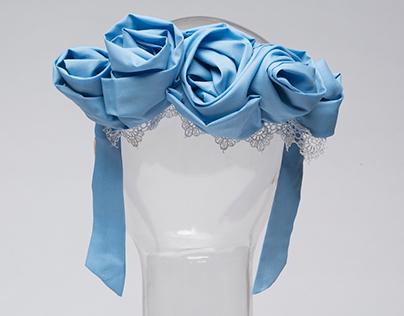 Blue Hairpiece