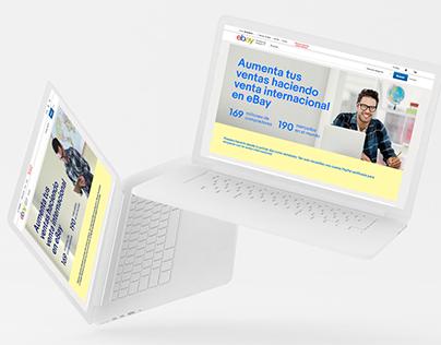 eBay Spain - Landing page