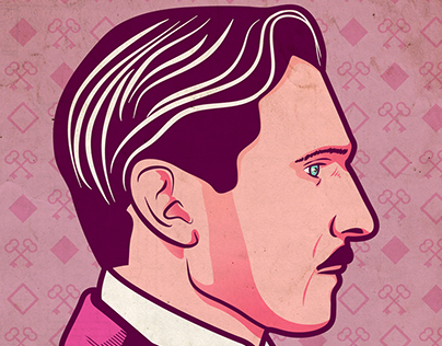 The Grand Budapest Hotel Illustrated Poster