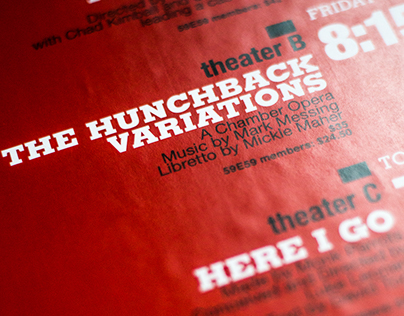 59E59 Theaters Poster